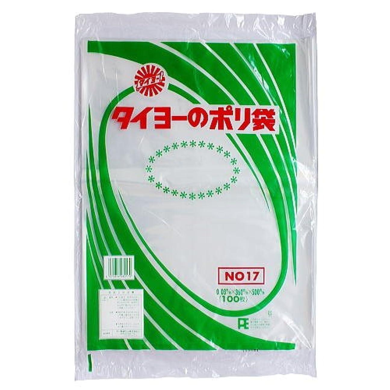 ミット麻酔薬有彩色の中川製袋化工 タイヨーのポリ袋 100枚入り ×5個