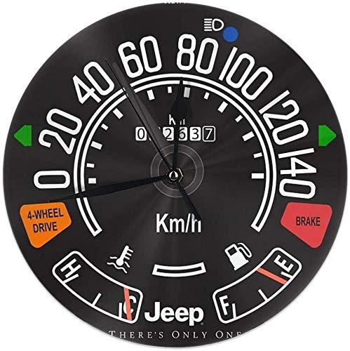 gardenia store Jeep CJ Tachimetro Tachimetro Calibro Rotonda Orologio da Parete Home Decor 9.84'