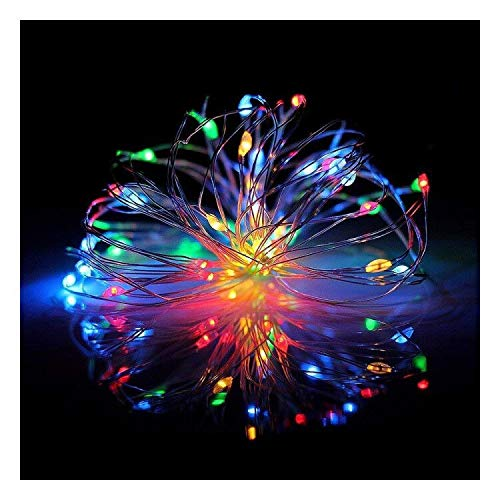 Music LED Fairy String Lights,12 Modes 33ft 100LED USB Multi-Color Powered Sound Activated Music Starry Fairy Lights with Remote Control for Home Party Birthday GardenWedding Festival Indoor Decor