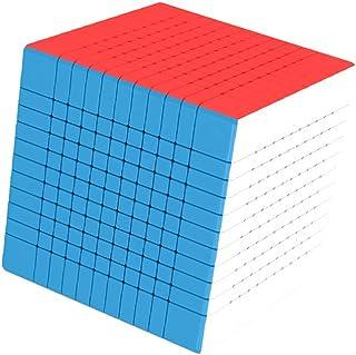脳燃焼おもちゃ脳教育おもちゃ11次ルービックキューブトリプルセンター構造より強い安定性ユニークな6色デザイン