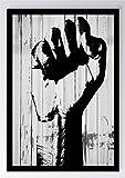 Faust Freiheit Holz Kunstdruck Poster -ungerahmt- Bild DIN