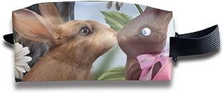 トゥルーラブイースター 化粧ポーチ メイクポーチ ミニ 財布 機能的 大容量 アイシャドー 化粧品収納 小物入れ 普段使い 出張 旅行 メイク ブラシ バッグ ポータブル 化粧バッグ