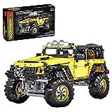 DAN DISCOUNTS Bloques de construcción de coche para Jeep Wrangler Rubicon, 2452 bloques de construcción 1:8 con tecnología todoterreno, construcción de juguete, compatible con Lego Technic