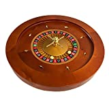 Yuanhe 20Inch Deluxe Wooden Roulette Wheel ¡
