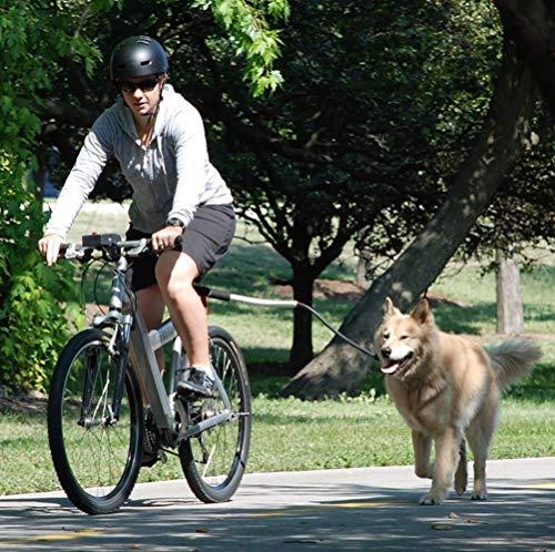 HEI SHOP Fahrradhalter für den Hund - Fahrrad Hunde Leine Fahrradhalter für den Hund