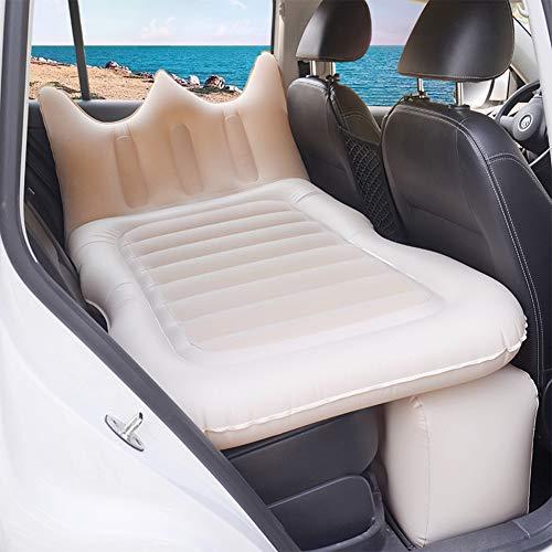 BABI Autoluftmatratze Mit Pumpe, Multifunktions-Autocamping-Luftmatratze, Auto-Reisematratze Für Alle SUV-Autos, Outdoor-Camping