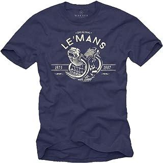 Vintage Tee Shirt Motard - Le Mans - Moto Cadeau Homme Original