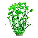 FancyU Plantas Acuáticas Artificiales Plantas de Acuario Plástico Artificial Paisajismo Agua Césped Decoración para Acuario- 6PCS