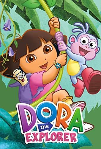 Mutuco Puzzle 1000 Piezas,Carteles de programas de televisión de Dora la exploradora,DIY Arte Rompecabezas, Intelectual Educativo Rompecabezas, Juguete Regalo para Niños Adultos