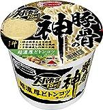 スーパーカップ1.5倍 豚骨の神 超濃厚どトンコツラーメン 129g ×12食