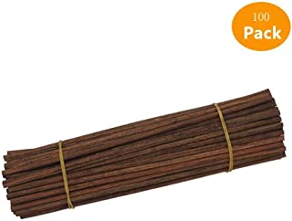 jecengs Brown Rattan Sticks Reed Fragrance Diffuser Replacement Rattan Refill Sticks (7in/17cm)