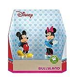 Bullyland 15077 - Juego de Figuras de Mickey y Minnie