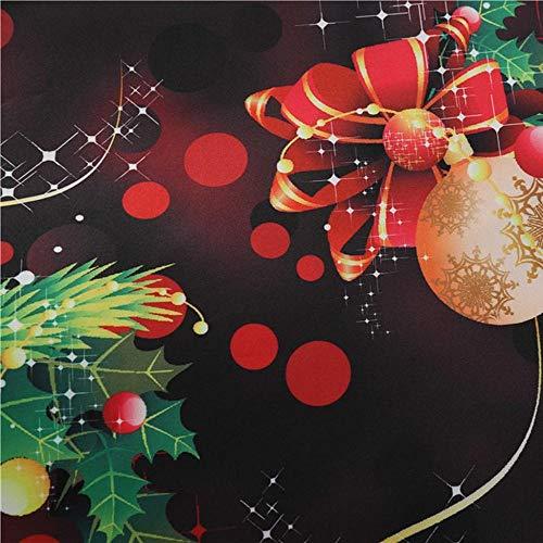 VJGOAL Vestido de Navidad para Mujer Vintage Elegante Cintura Alta Impresión Vestidos Plisados Casual Cuello Redondo Sin Mangas 1950 Vestido de Fiesta de Noche Hepburn