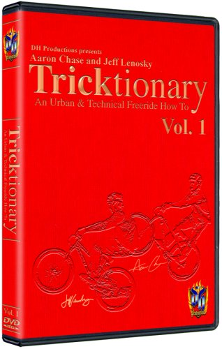 Tricktionary DVD Mountain Bike Freeride Instructional