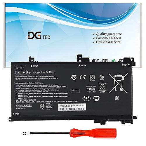 DGTEC TE03XL New Laptop Battery Replacement for HP Pavilion 15-BC000 OMEN 15-AX000 5T-AX000 15T-AX200 Series HSTNN-UB7A TPN-Q173 TE03061XL 849910-850 849570-541 849570-542 (11.55V 61.6Wh)