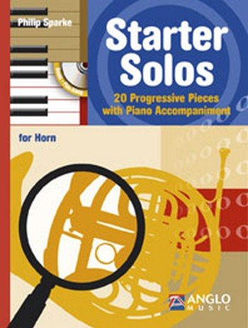 Starter Solos (+ CD): For Horn in F and Piano