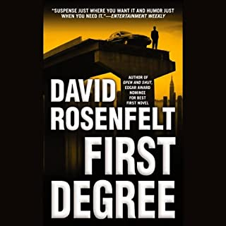 First Degree                   Written by:                                                                                                                                 David Rosenfelt                               Narrated by:                                                                                                                                 Grover Gardner                      Length: 6 hrs and 40 mins     2 ratings     Overall 5.0