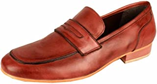 Salt N Pepper 14-126 Blade Real Leather Loafers