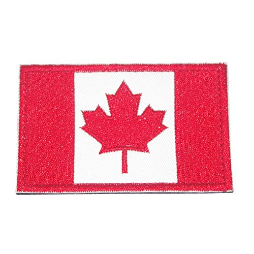 Cobra Tactical Solutions Bandera Canadá Parche Bordado