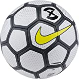 Nike Premier X Futsal Soccer Ball (White/Anthrocite/Opti Yellow) (Pro)