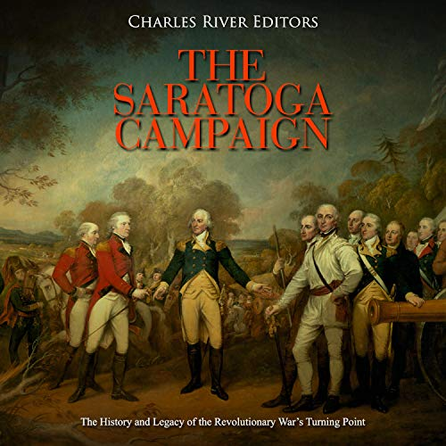 The Saratoga Campaign  By  cover art