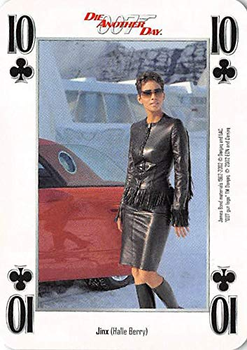 Halle Berry trading card gaming Jinx 007 James Bond Die Another Day #10C Black Dress Boots
