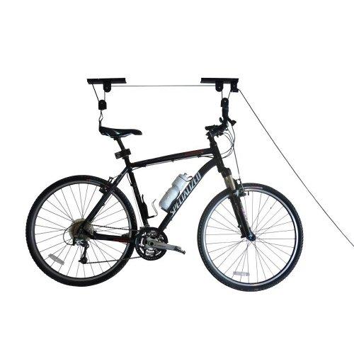 RAD Sportz Bicycle Hoist 2-Pack Quality Garage Storage Bike Lift with 100 lb Capacity Even Works as Ladder Lift Premium Quality