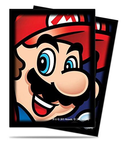 Ultra Pro Super Mario Kit Protecteur de Jeu de Carte avec 65 protège-Cartes