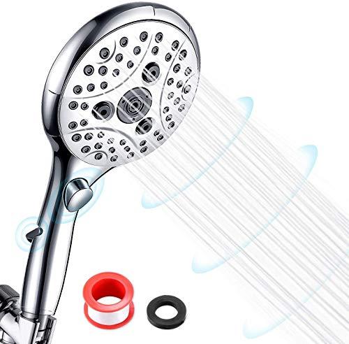 Houkiper High Pressure Shower Head, Universal G1/2 Handheld Shower with 6...