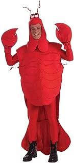 Forum Mens Mardi Gras Lobster Craw Daddy Crayfish Costume