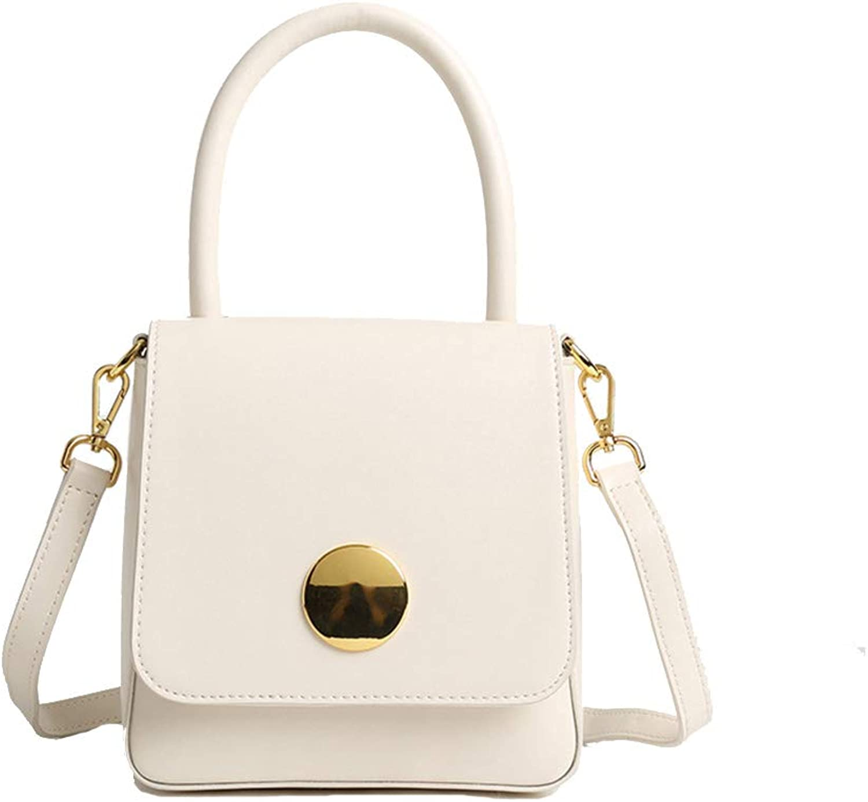 Cvbndfe Multifunktion Frauen Vintage Leder handtaschen persönlichkeit tragbare Elegante einfache einfache einfache umhängetasche mit Gurt Alltag Wochenende Freizeit Tasche Große Kapazität (Farbe   Beige) B07MFP6RCV 2d3f0e