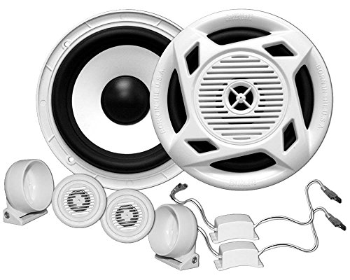 Earthquake Sound Machine MC5 5-Inch Matched Component Speaker Set