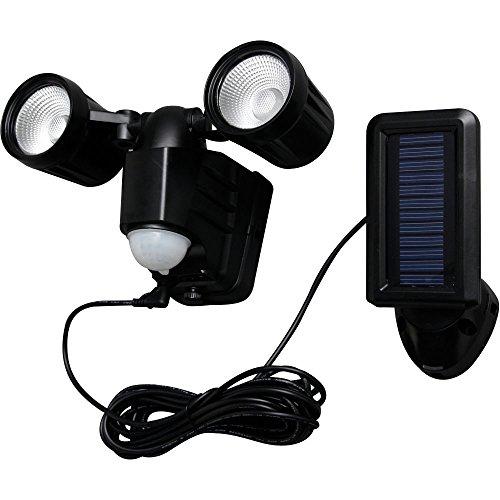 ソーラー式LEDセンサーライト 昼白色相当 LSL-SBTN-200D