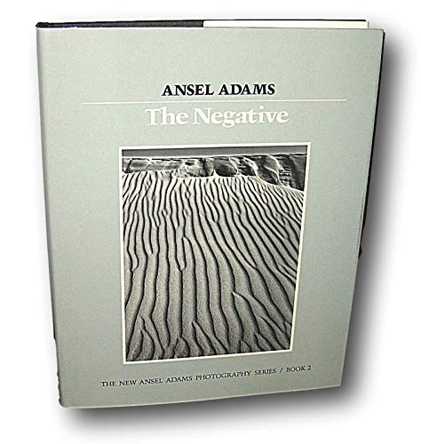 Rare -SIGNED Ansel Adams The Negative New Photography Series Book 2 HC DJ 1981
