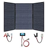 XINPUGUANG 150W 12v kit de panel solar 3 x 50 vatios cargador solar 20A controlador de carga solar para autocaravana, caravana, barco, coche, autocaravana, senderismo, carga al aire libre