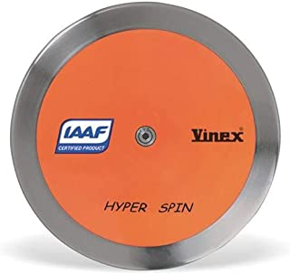 4Throws 1.6 KG Discus [91% Rim Weight] ⦿ Training Ready ⦿ IAAF Certified ⦿ Boys Track and Field