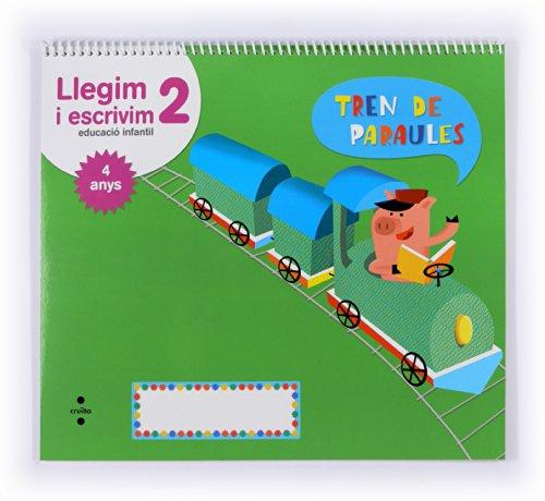 Llegim i escrivim 2. Educació infantil, 4 anys. Tren de paraules - 9788466134309
