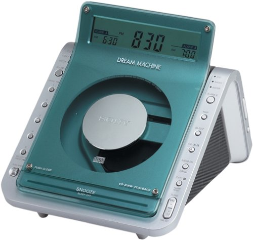 Sony ICF-CD855VSIL TV/Weather/FM/AM 4 Band CD Clock Radio (Discontinued by Manufacturer)
