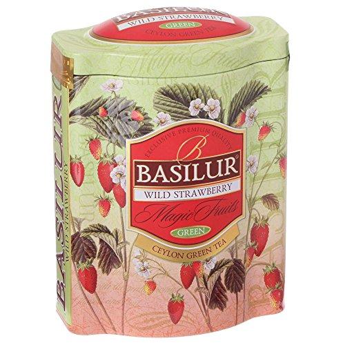 BASILUR Magic Wild Strawberry Grüner Tee Dose 100g