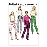 BUTTERICK B6137 Costura para Confeccionar Blusas, Trajes, Ve
