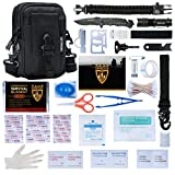 HERACLES 110 in 1 Emergency Survival Kit, First Aid...