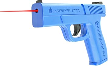 laser training pistol with recoil