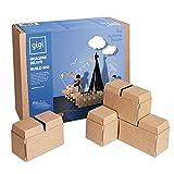 GIGI Bloks Bloques de Construcción Gigantes de Cartón Para Niños,...
