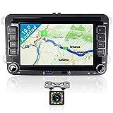 Podofo Autoradio Bluetooth Android 10.0 Stereo Auto 2 Din Con 7 pollici Schermo Radio Auto Vivavoce Microfono Integrato Con Navigatore USB/Wifi/BT/GPS/FM