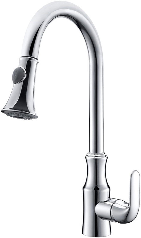 LKW-bathroom Kitchen Sink Mixer Fittings Sink Mixer Tap Sink Mixer Taps Lever Swivel Spout Kitchen Sink Taps Swivel Spout Chrome Kitchen Sink Tap Kitchen Mixer Tap Chrome-Plated Copper Cold