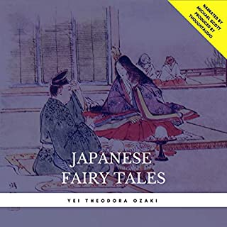 Japanese Fairy Tales                   By:                                                                                                                                 Yei Theodora Ozaki                               Narrated by:                                                                                                                                 Michael Scott                      Length: 1 hr and 9 mins     4 ratings     Overall 3.8