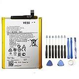 Batterie interne pour Motorola E4 Plus / E5 Plus + Kit d'outils HE50 / 5000 mAh