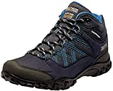Regatta Edgepoint Mid Waterproof Hiking Boot, Botas de Senderismo Mujer, Azul (Navy/Petroleo 79p),...