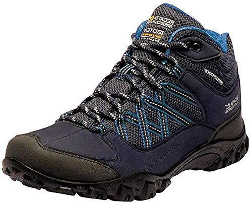 Regatta Edgepoint Mid Waterproof Hiking Boot, Botas de Senderismo Mujer, Azul (Navy/Petroleo 79p), 39 EU