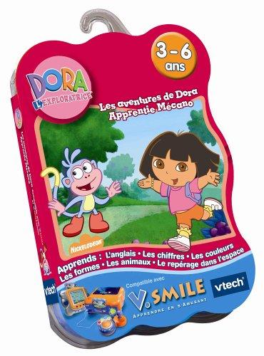 VTech - Cartouche de jeu V.Smile : Les aventures de Dora apprentie mécano